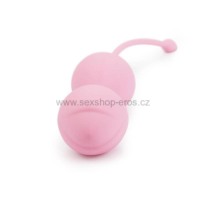 LoveToy iWhizz Luna Kegel Ball Pink