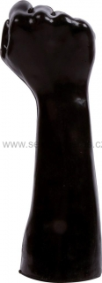 Domestic Partner 109 Fist of Victory Black, fist dildo 26 x 9 cm, ruka